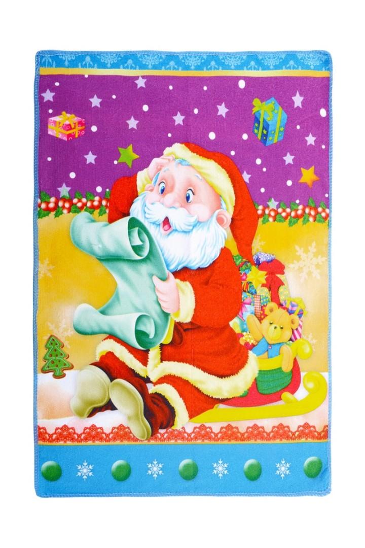 Vánoční ručník SANTA A DOPIS