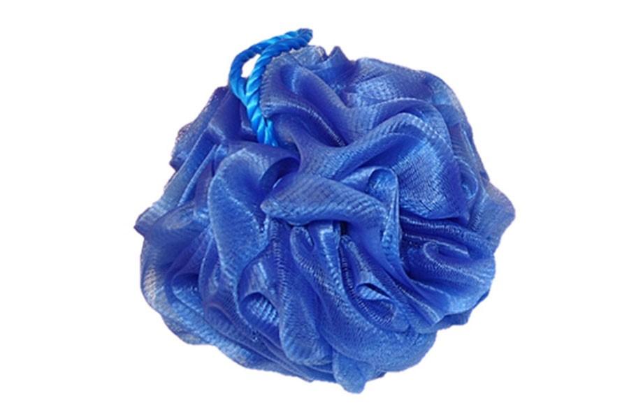Masážní žínka DELUXE modrá