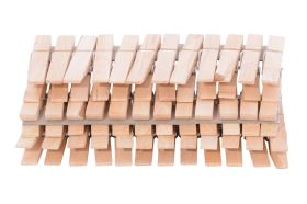 Dřevěné kolíčky na prádlo 36ks