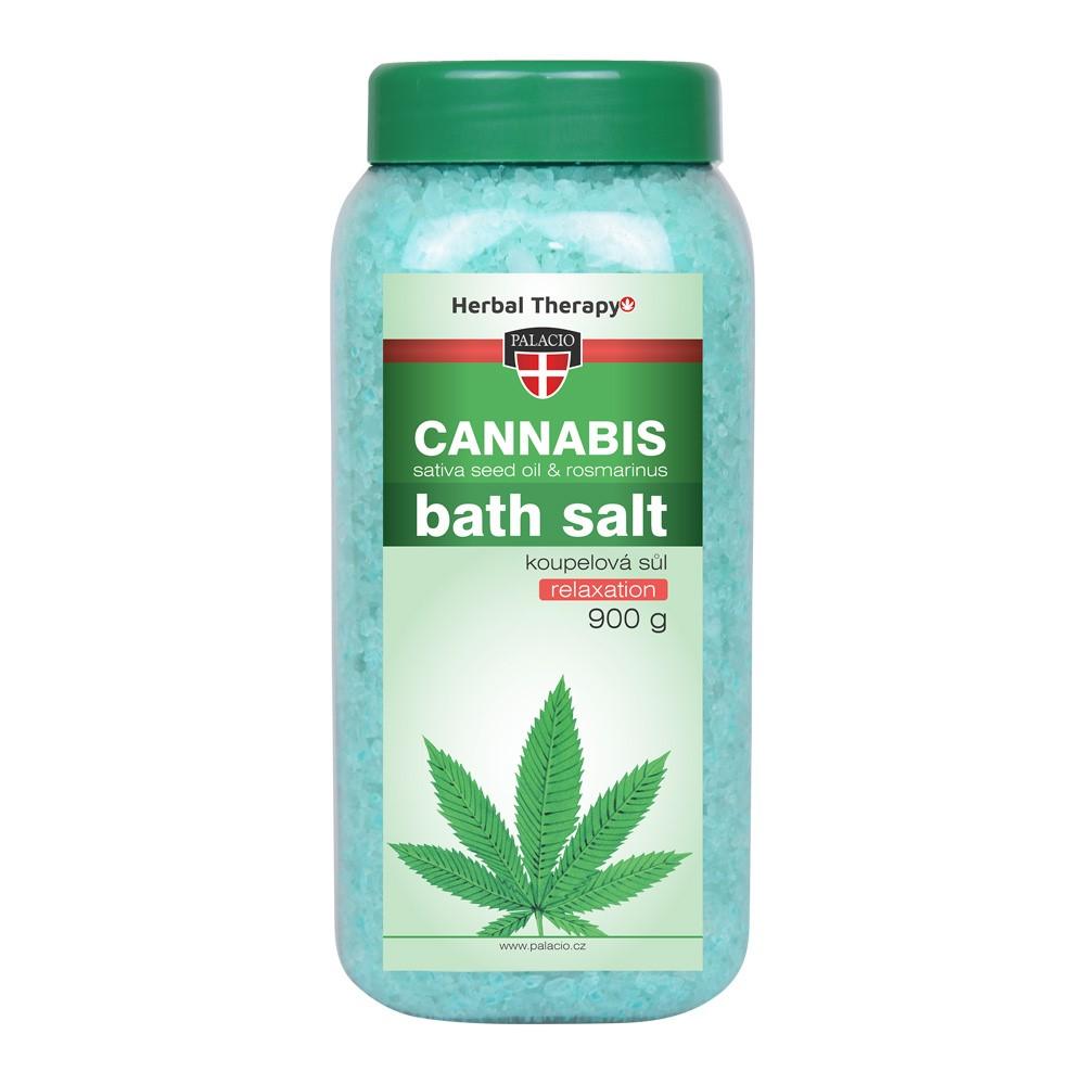 Konopná sůl do koupele Cannabis Rosmarinus 900 g