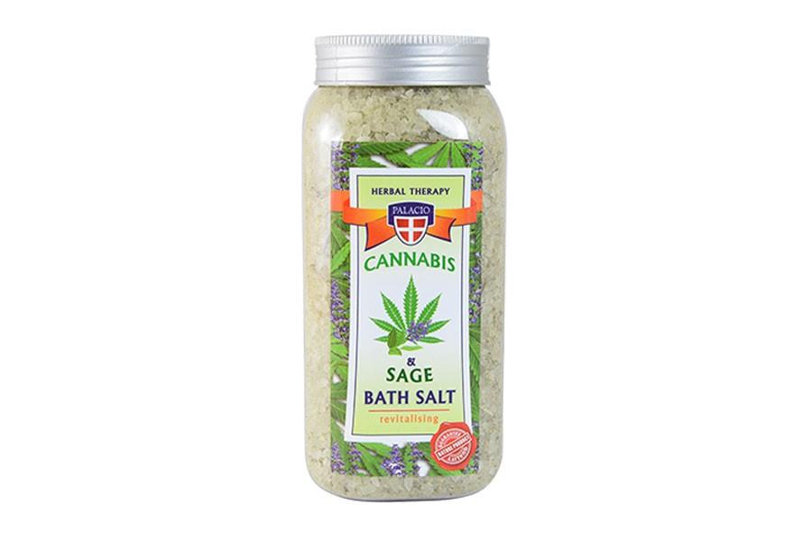 Konopná sůl do koupele se šalvějí 900 g