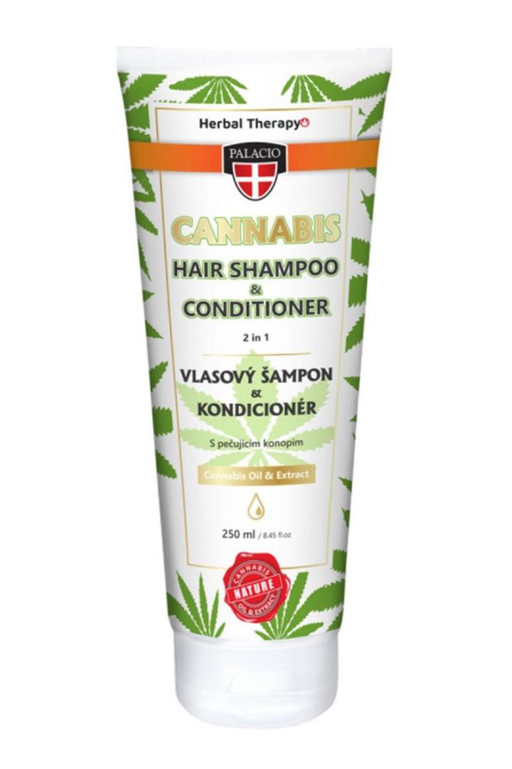 Konopný šampon 2v1 250 ml