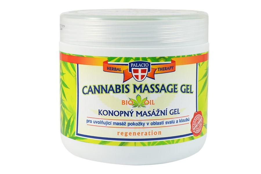 Konopný masážní gel 600 ml