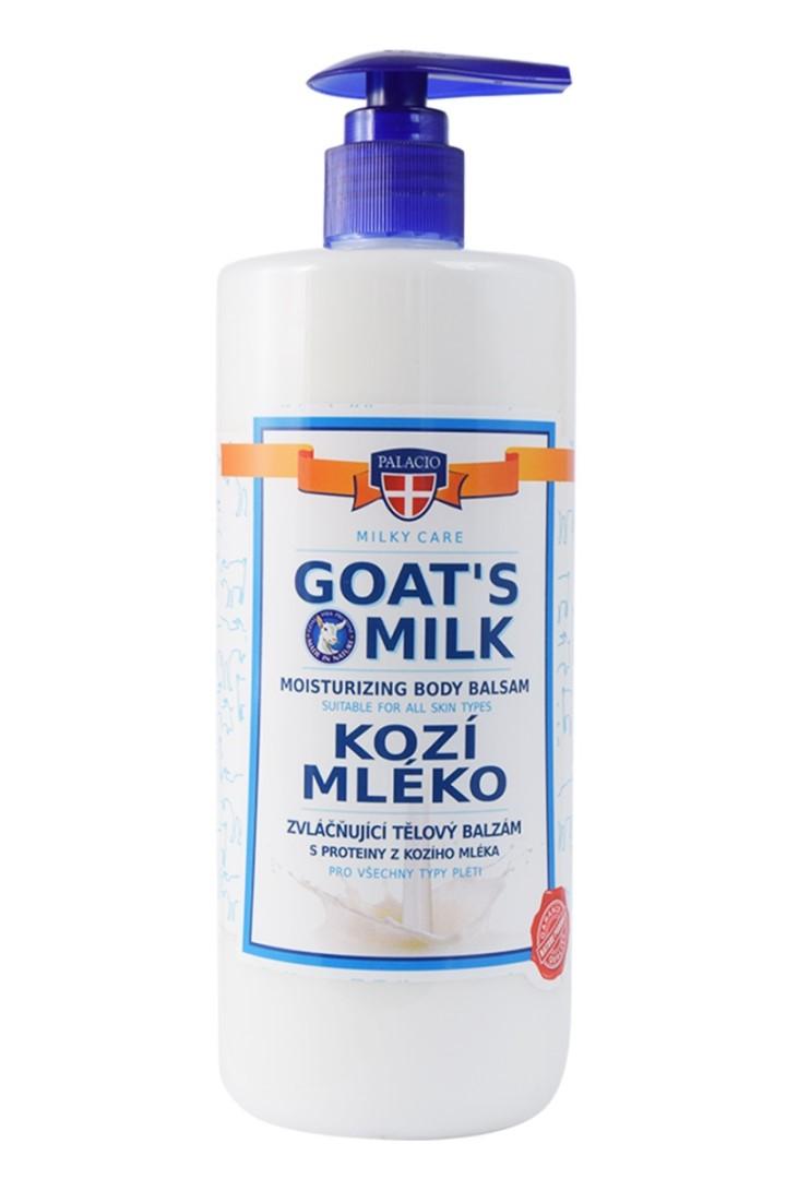 Kozí mléko tělový balzám s pumpičkou 500 ml