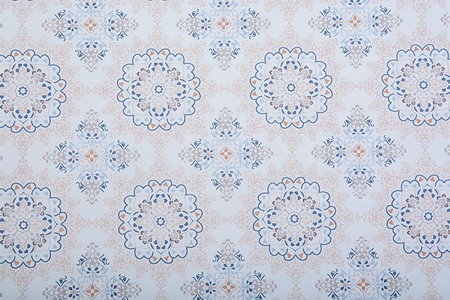 PVC ubrus MANDALA 140x140 cm