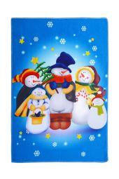 Vánoční ručník SNĚHULÁCI