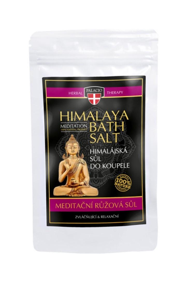 Himalájská sůl do koupele růžová 200g