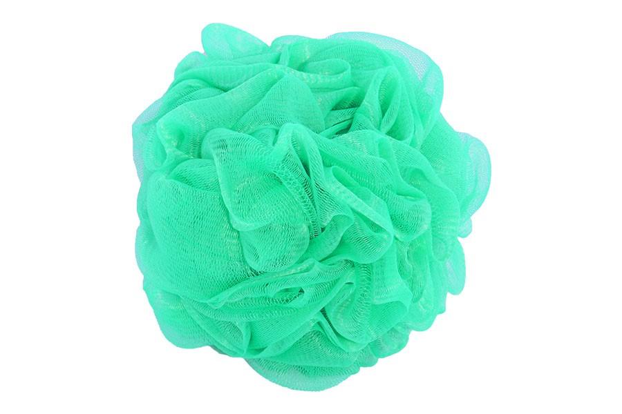 Masážní žínka DELUXE zelená