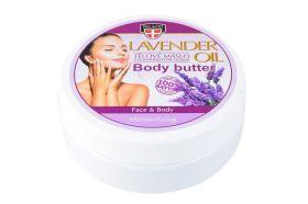 Levandulové tělové máslo 200 ml