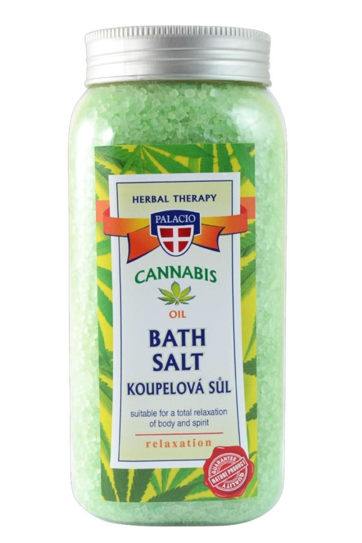 Konopná sůl do koupele 900 g
