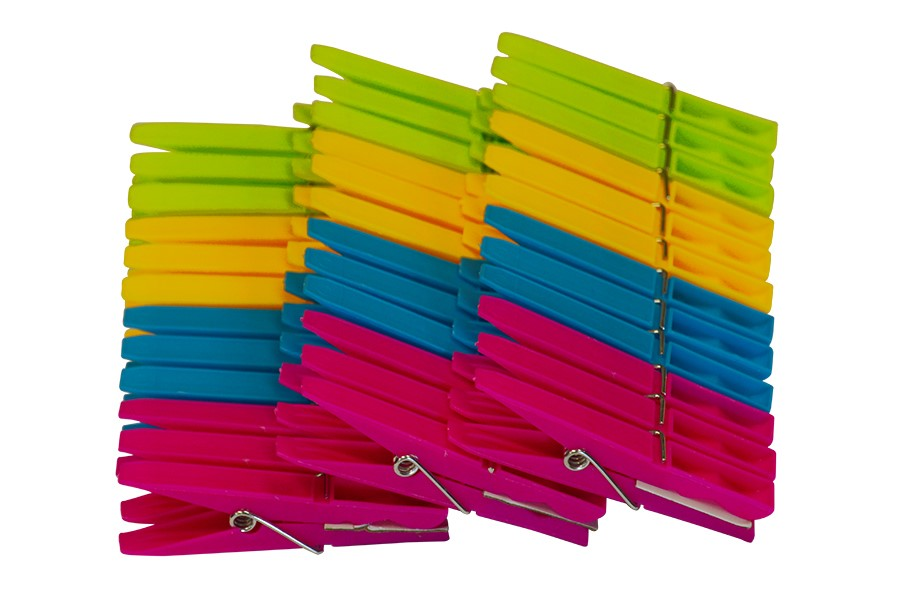 Plastové kolíčky na prádlo 36 ks