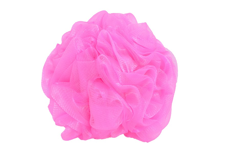 Masážní žínka DELUXE růžová